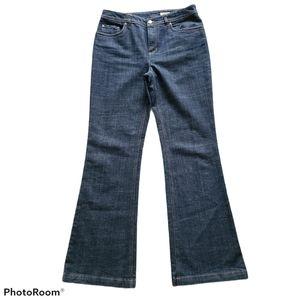 - Jones New York Sport Stretch Bootcut Jeans